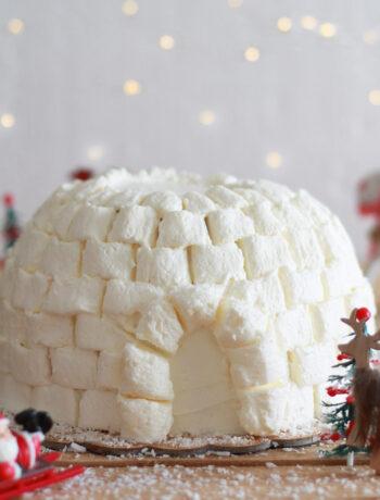 Gâteau igloo sans gluten - La Cassata Celiaca