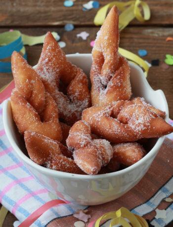Bugnes de Christophe Felder sans gluten - La Cassata Celiaca
