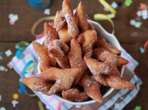 Bugnes di Christophe Felder senza glutine - La Cassata Celiaca