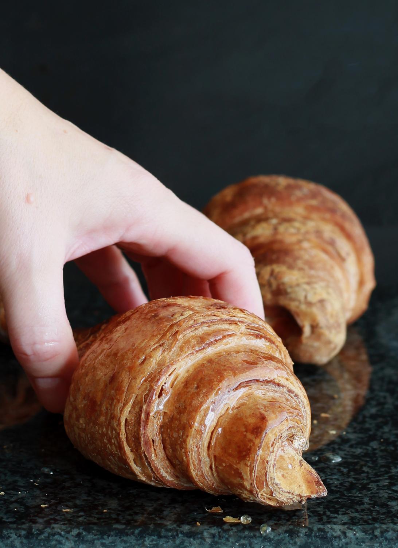 Croissant sans gluten, sans lactose et sans œufs - La Cassata Celiaca