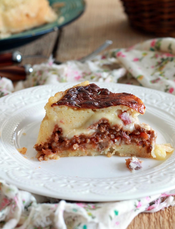 Torta salata stile hachis parmentier senza glutine - La Cassata Celiaca