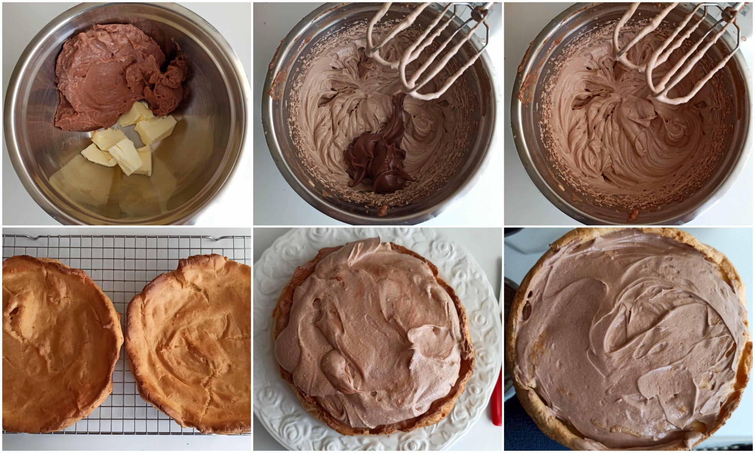 Gâteau Karpatka au Nutella sans gluten - La Cassata Celiaca