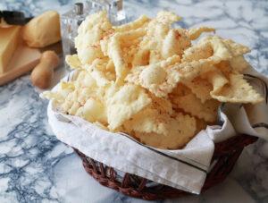 Chiacchiere di Carnevale salate senza glutine - La Cassata Celiaca