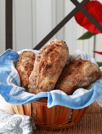 Panini con noci e rosmarino senza glutine - La Cassata Celiaca