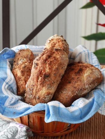Petits pains sans gluten aux noix et romarin - La Cassata Celiaca