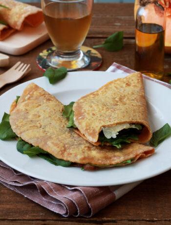 Piadine di zucca senza glutine - La Cassata Celiaca