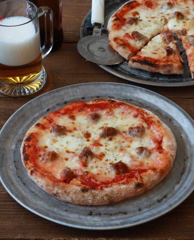 Pizza à la bière sans gluten - La Cassata Celiaca