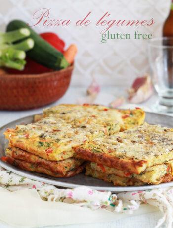 Pizza de légumes sans gluten - La Cassata Celiaca