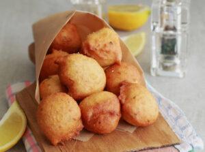 Cuculli, le frittelle con farina di ceci senza glutine - La Cassata Celiaca