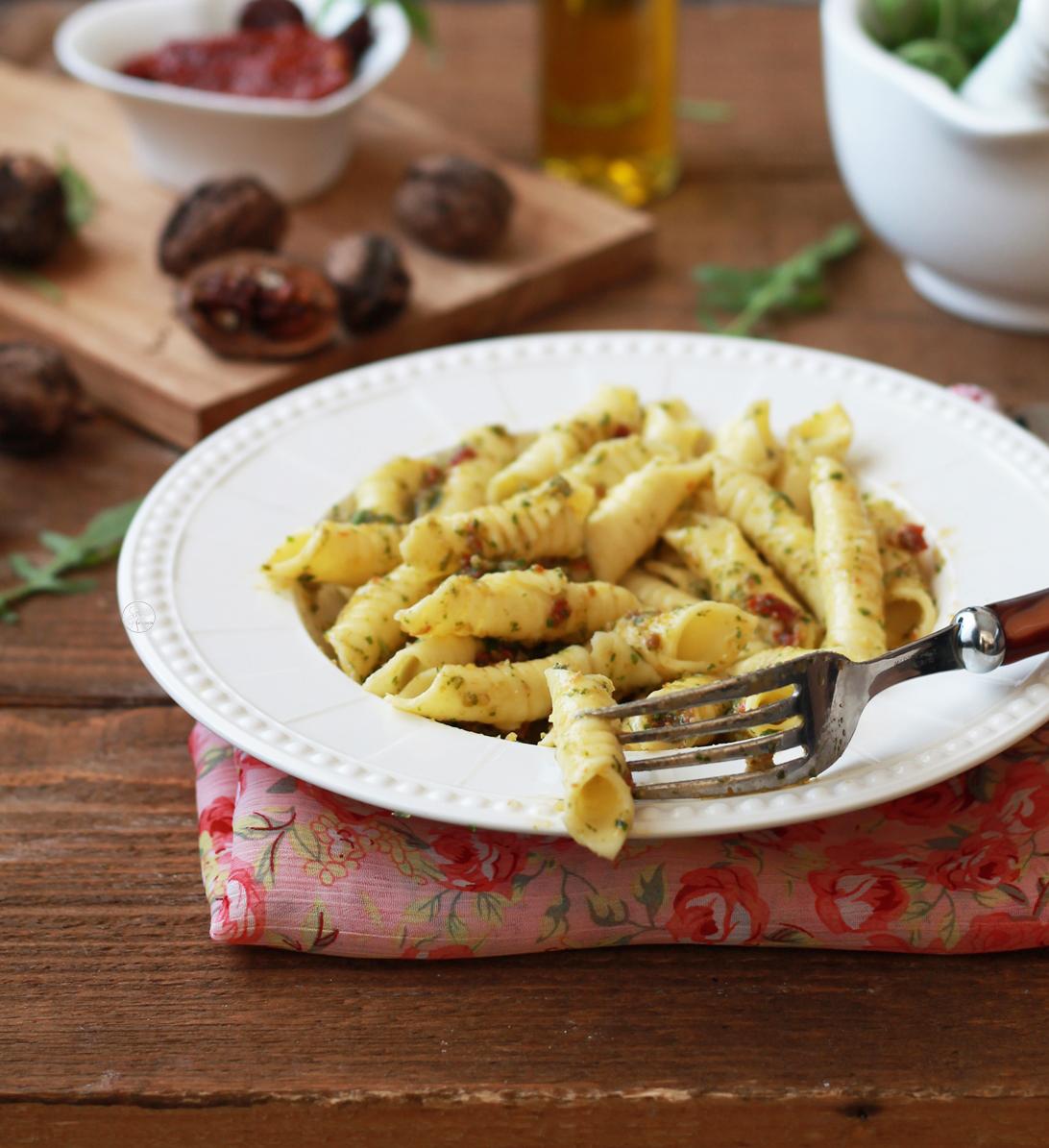 Pâtes aux œufs sans gluten avec pesto de roquette - La Cassata Celiaca
