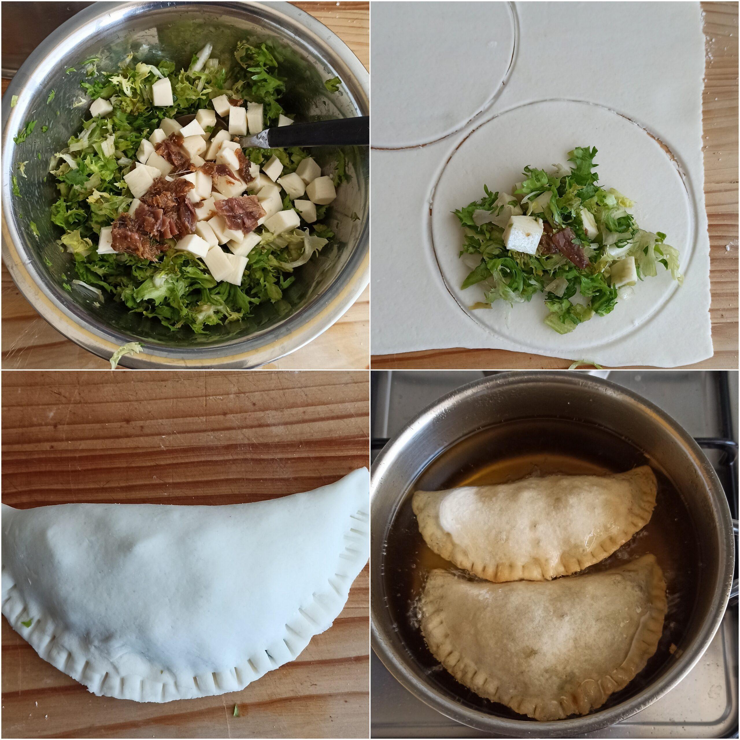 Pitoni messinesi senza glutine (fritti e con la scarola) - La Cassata Celiaca