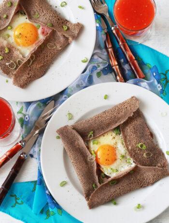 Galette bretonne sans gluten - La Cassata Celiaca