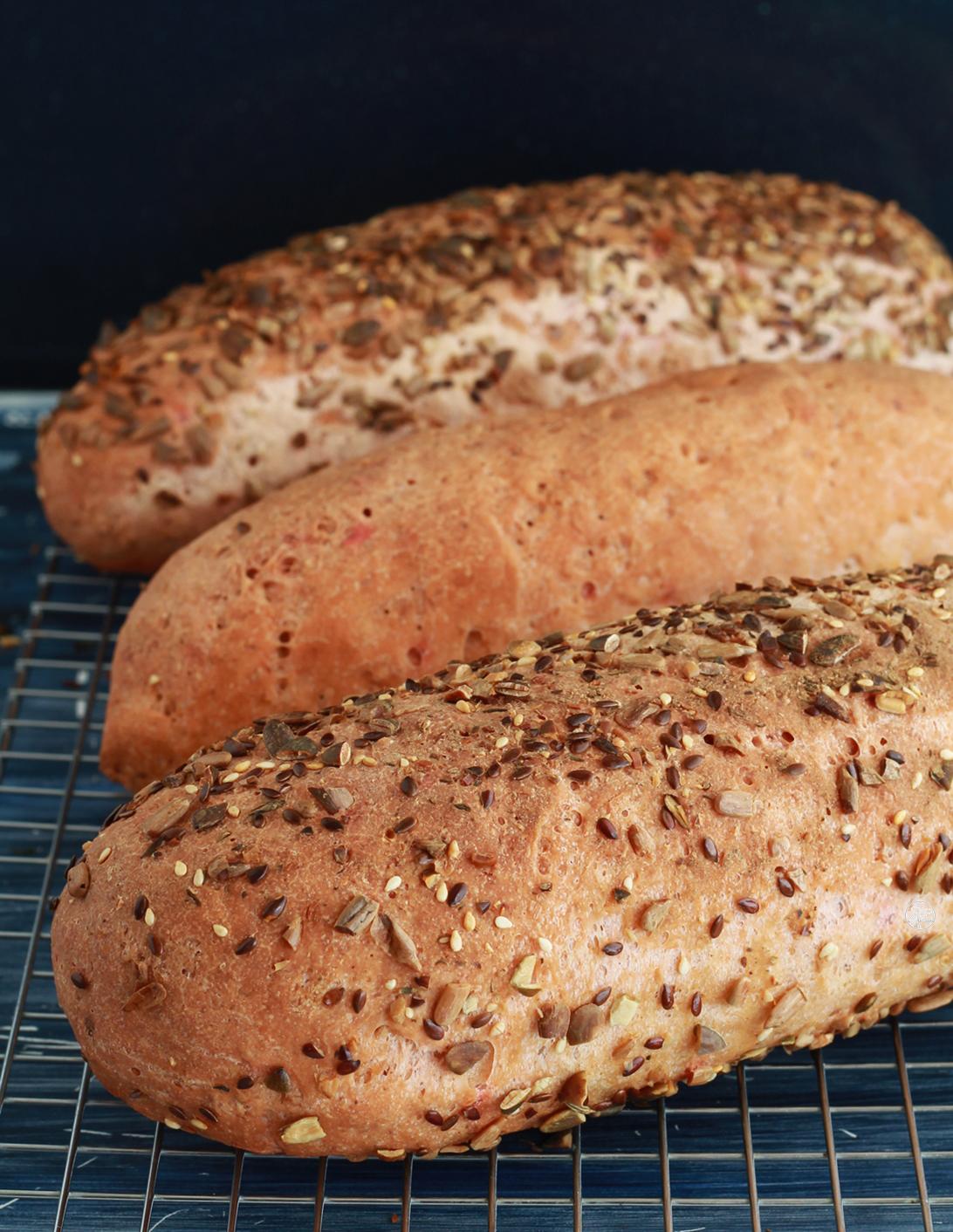Pane al miglio senza glutine - La Cassata Celiaca