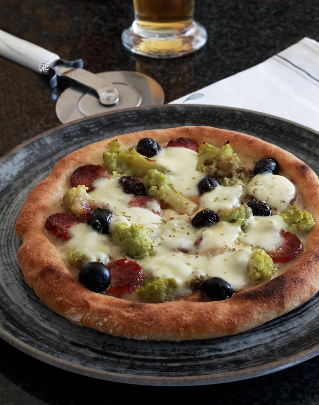 Pizza senza glutine e senza mix commerciali - La Cassata Celiaca
