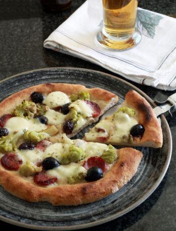 Pizza sans gluten et sans mix du commerce en vidéo - La Cassata Celiaca