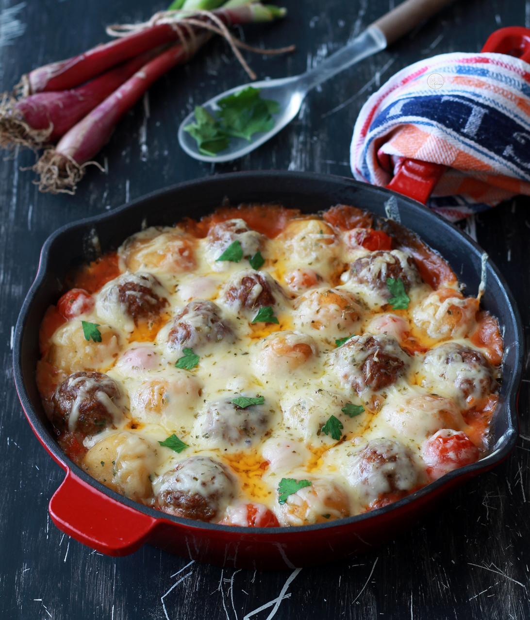 Pasticcio di polpette al forno senza glutine - La Cassata Celiaca