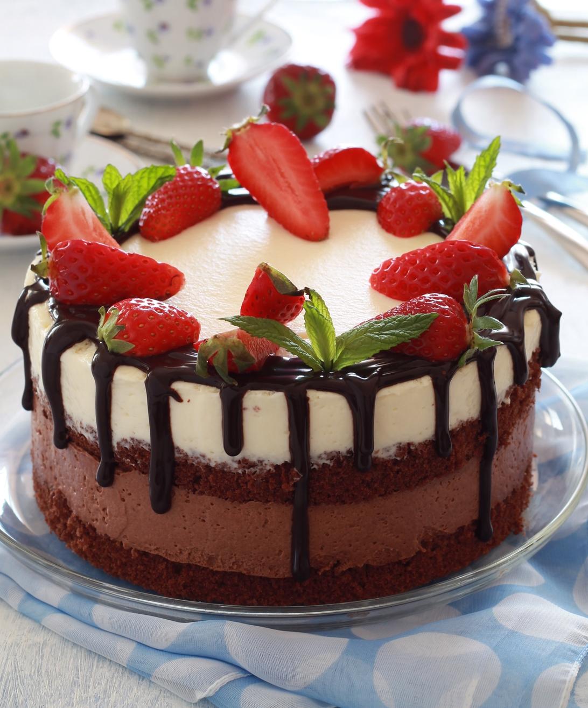 Torta al doppio cioccolato senza glutine - La Cassata Celiaca