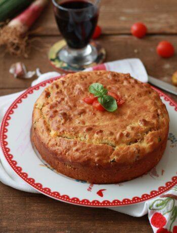 Gâteau salé 7 pots sans gluten - La Cassata Celiaca