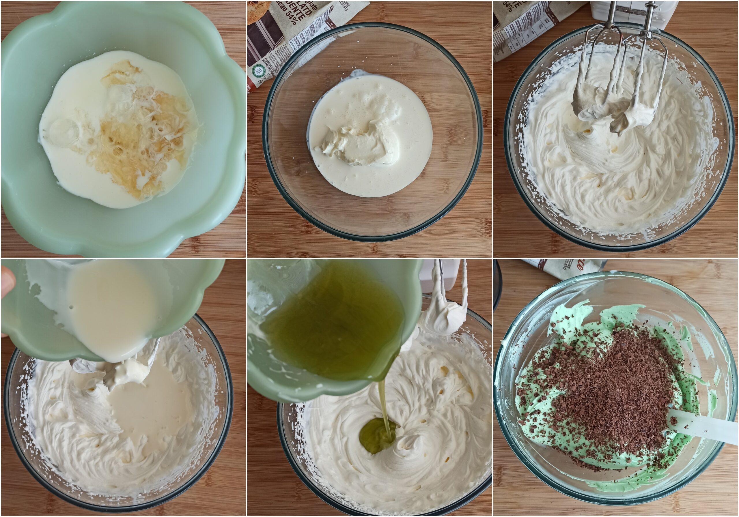 Cheesecake cioccolato e menta senza glutine - La Cassata Celiaca