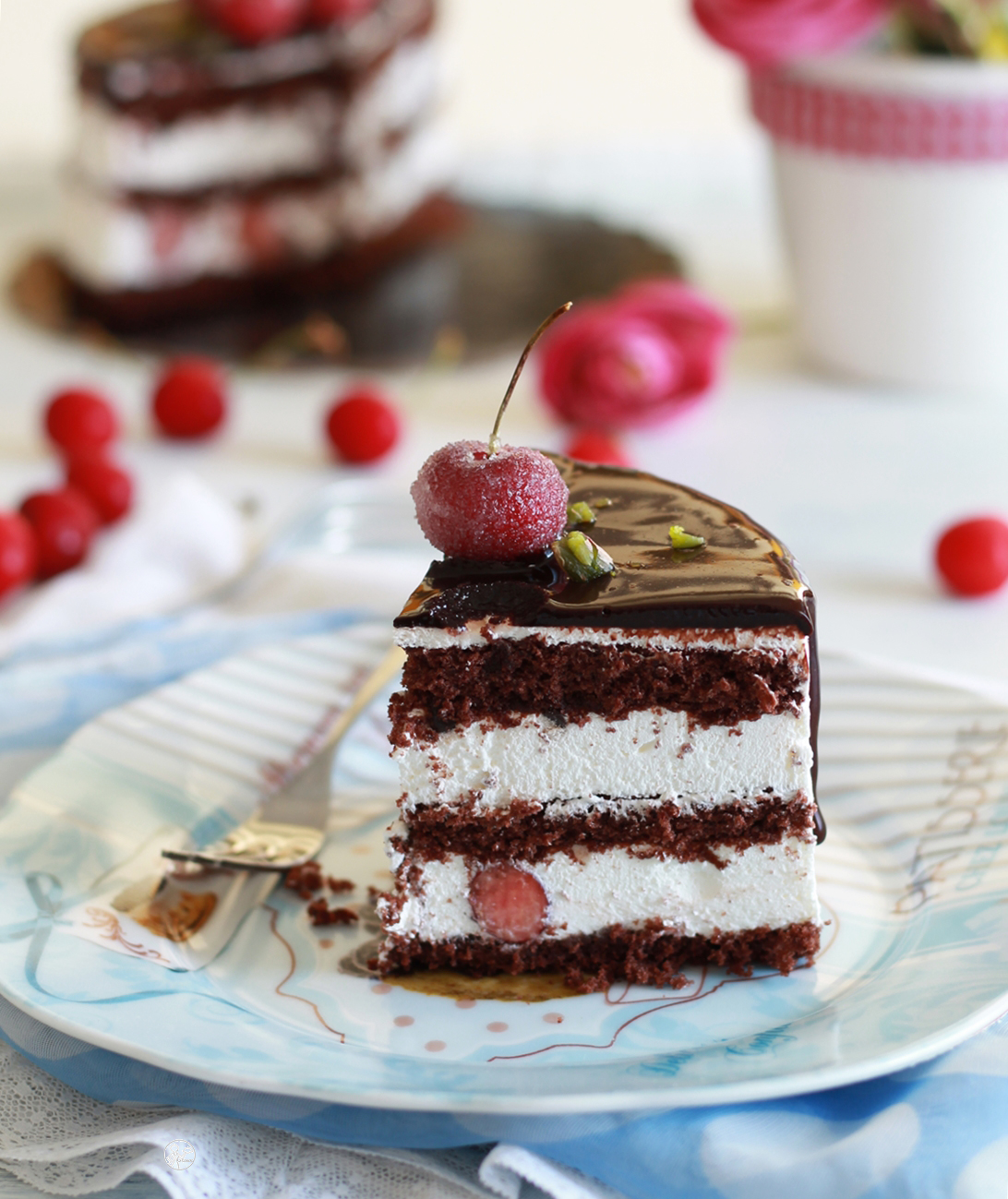 Torta Foresta nera senza glutine - La Cassata Celiaca