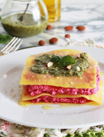 Lasagnetta estiva senza glutine - La Cassata Celiaca