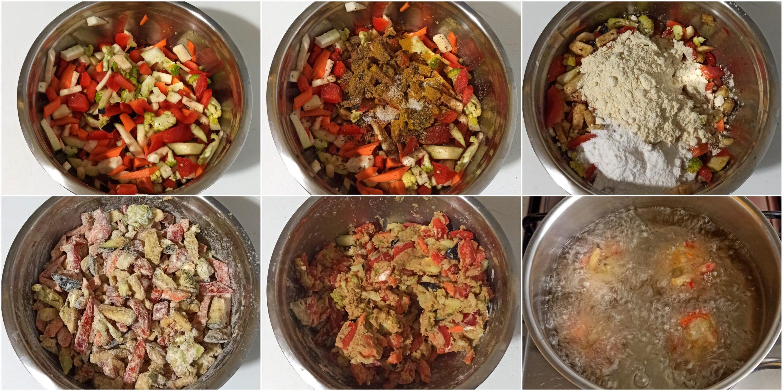 Frittelle di verdure senza glutine o pakora - La Cassata Celiaca