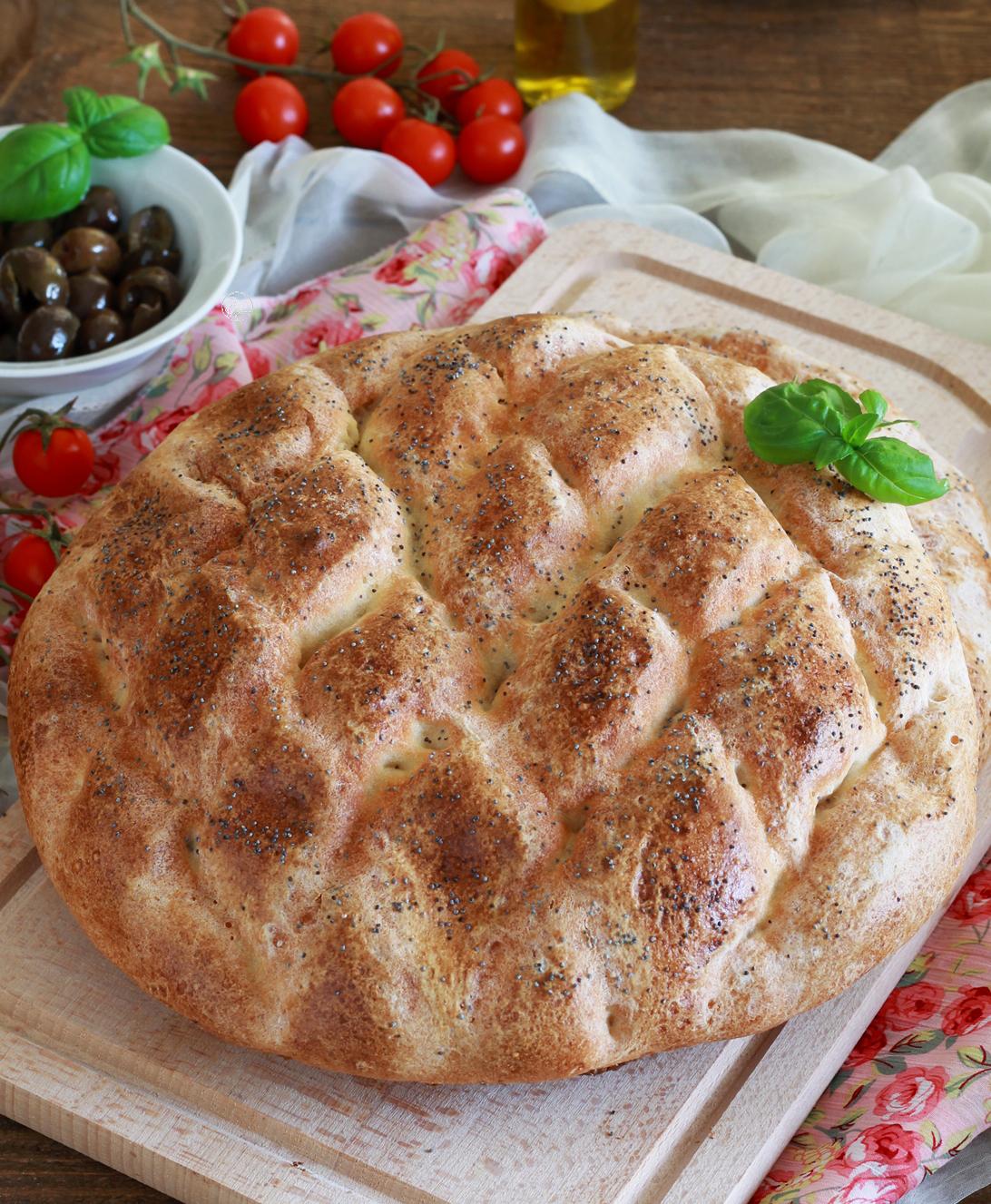 Pane pide senza glutine - La Cassata Celiaca