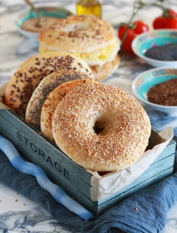 NY style bagels senza glutine - La Cassata Celiaca