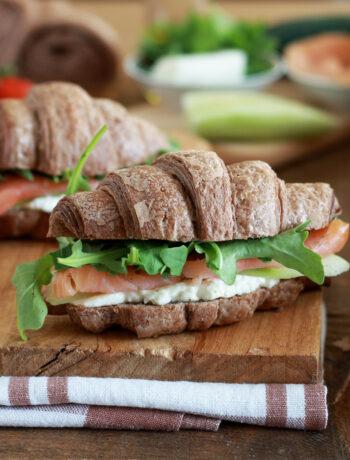 Croissants salés aux céréales sans gluten - La Cassata Celiaca