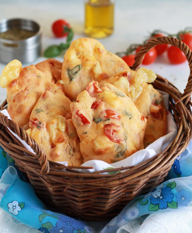 Frittelle mediterranee senza glutine - La Cassata Celiaca