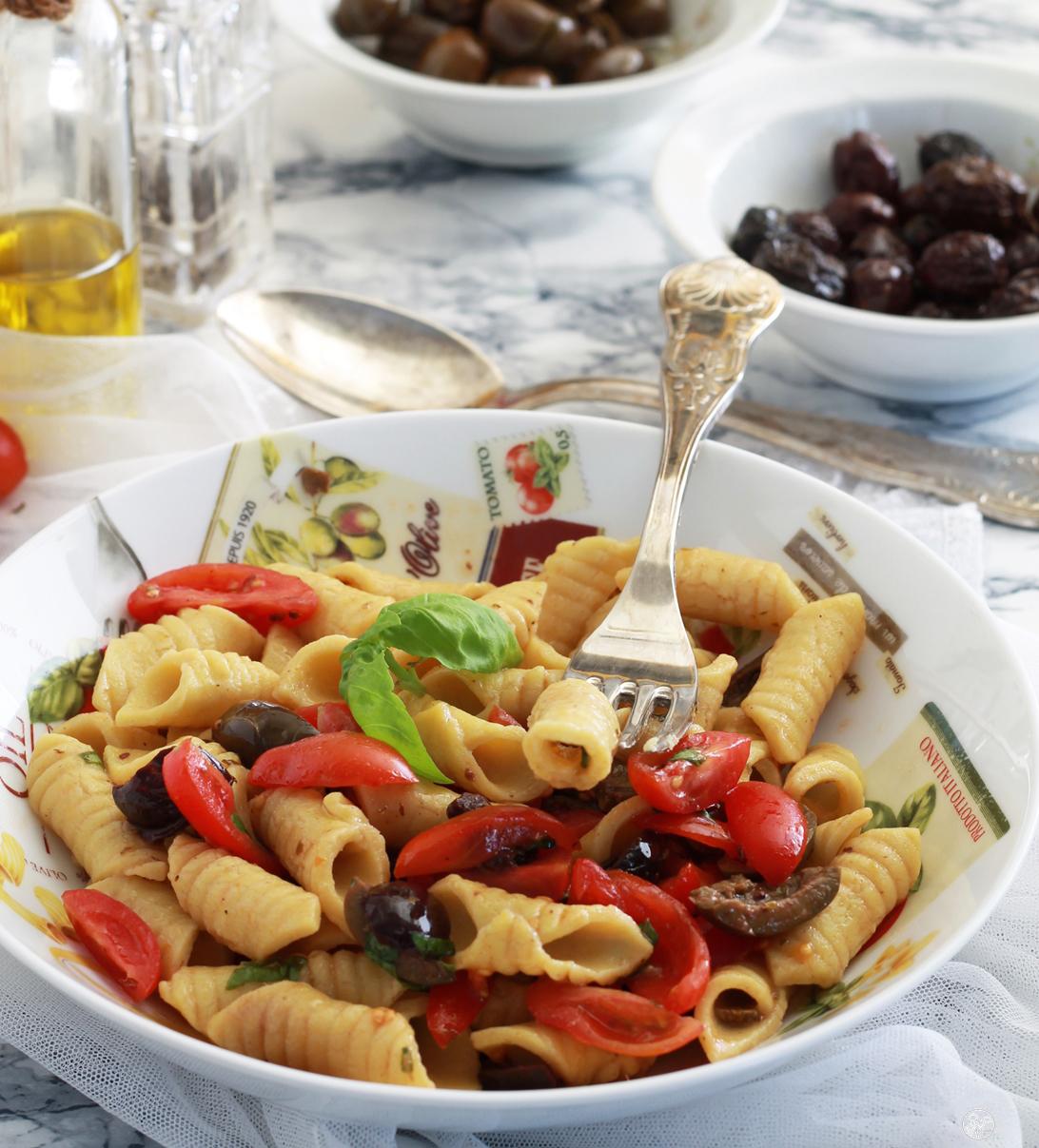 Garganelli estivi senza glutine - La Cassata Celiaca