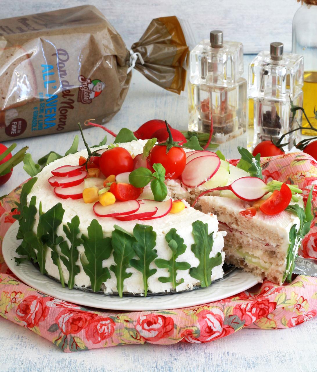 Sandwich cake senza glutine - La Cassata Celiaca