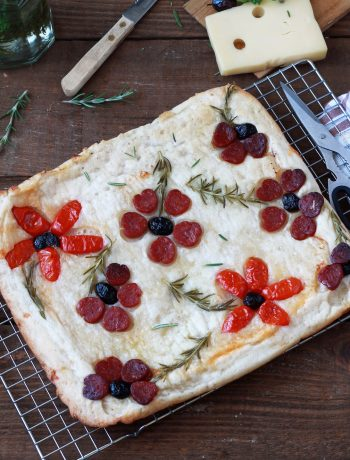 Schiacciata au fromage sans gluten - La Cassata Celiaca