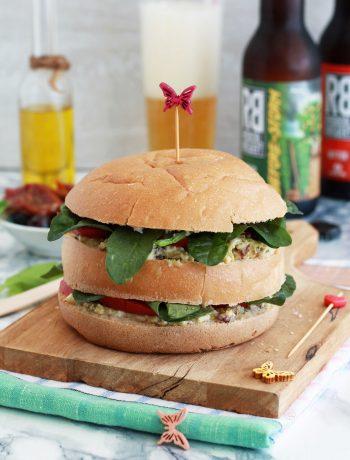 Burger à la française sans gluten - La Cassata Celiaca