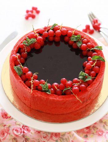 Bavarois aux fruits rouges sans gluten - La Cassata Celiaca