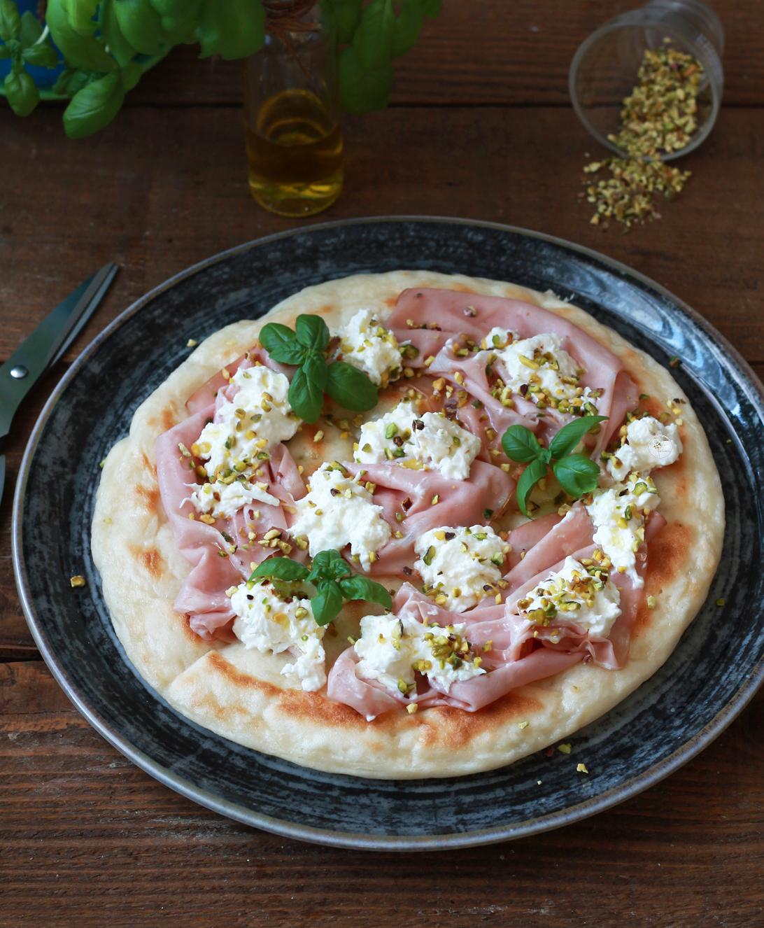 Pizza in padella senza glutine - La Cassata Celiaca