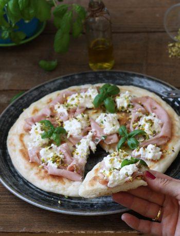 Pizza à la poêle sans gluten - La Cassata Celiaca