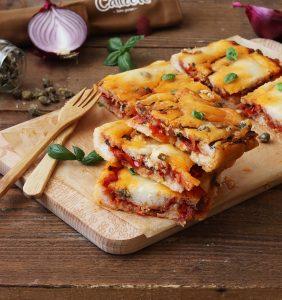 Focaccia alle sarde senza glutine o Pogača di Komiza - La Cassata Celiaca