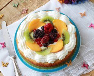 Torta in padella senza glutine - La Cassata Celiaca