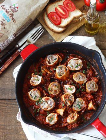 Calamars farcis à la provençale sans gluten - La Cassata Celiaca