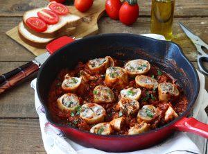 Calamari ripieni alla provenzale senza glutine - La Cassata Celiaca