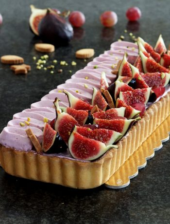 Tarte frangipane avec figues et raisins sans gluten - La Cassata Celiaca