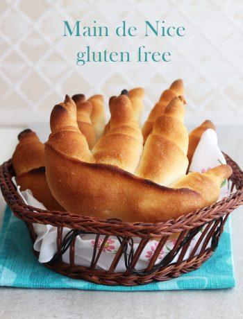 Pain Main de Nice sans gluten - La Cassata Celiaca