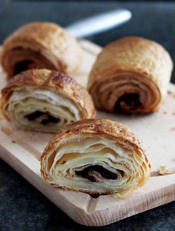 Pain au chocolat sans gluten - La Cassata Celiaca