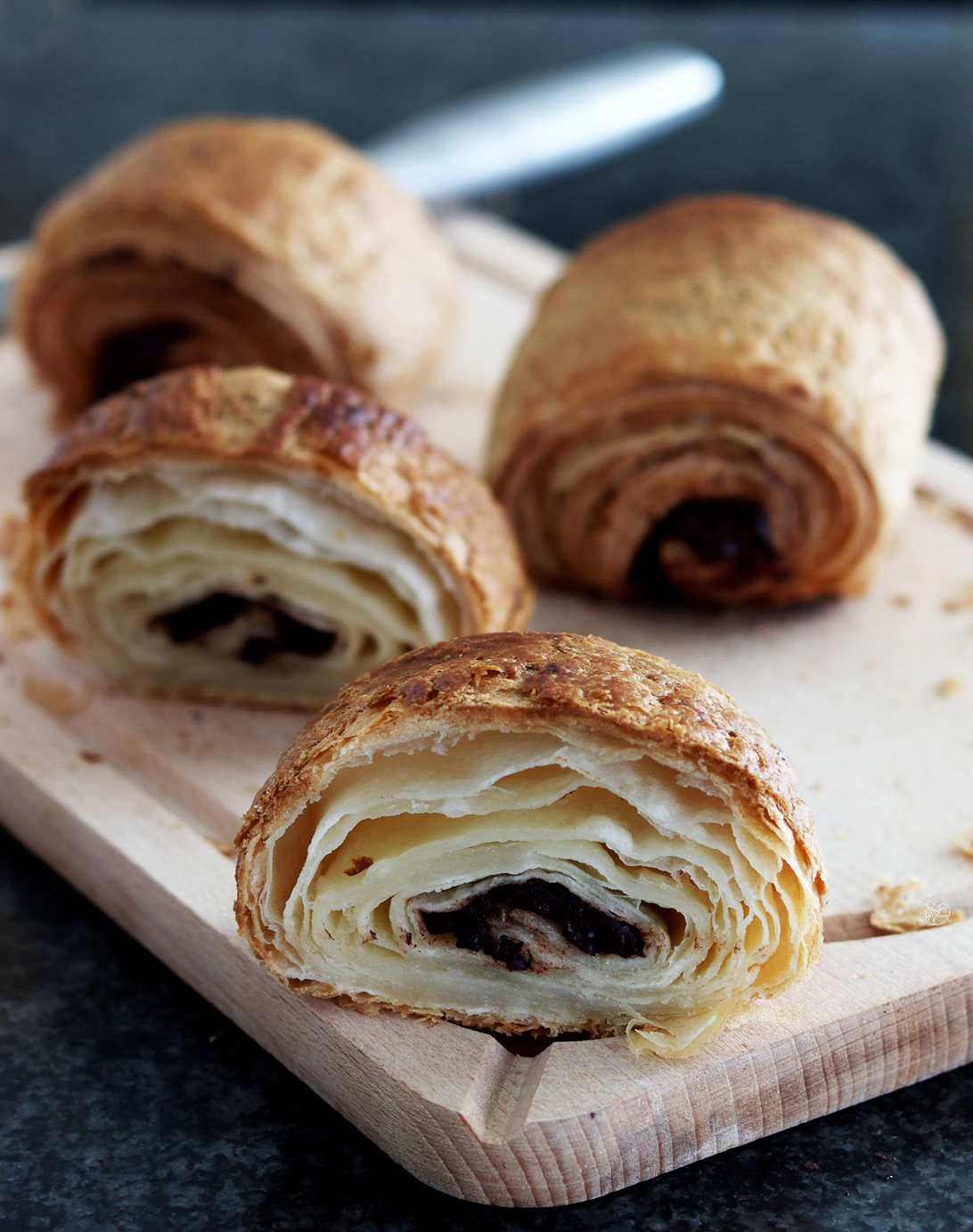 Pain au chocolat senza glutine - La Cassata Celiaca