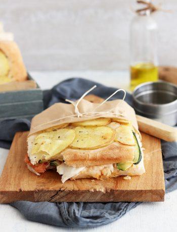 Schiacciata avec pommes de terre sans gluten - La Cassata Celiaca