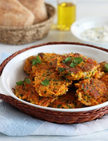 Galettes de carottes sans gluten - La Cassata Celiaca