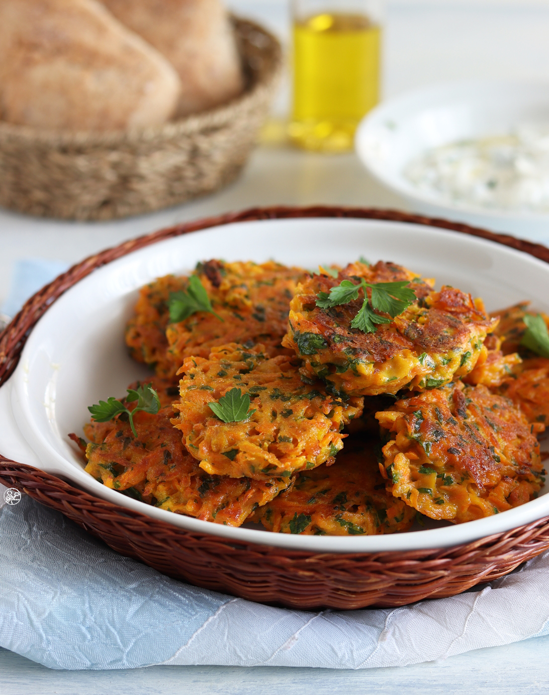 Rosti di carote senza glutine - La Cassata Celiaca