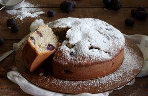 Torta con uva e grano saraceno senza glutine - La Cassata Celiaca