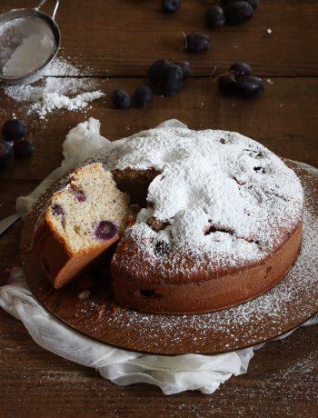 Gâteau aux raisins frais et au sarrasin sans gluten - La Cassata Celiaca